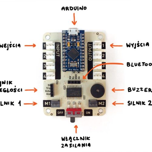 LOFI Brain Arduino compatible microcontroller